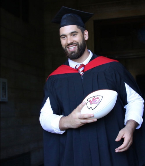 Photo of Laurent Duvernay-Tardif