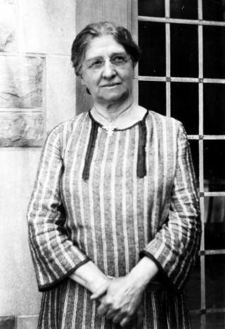 Carrie Derick, la première diplômée de 2e/3e cycles de McGill