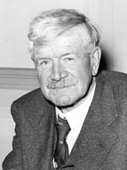Stephen Leacock, professeur d'économie et de sciences politiques à McGill