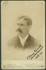 James Naismith, BA'1887, inventor of basketball