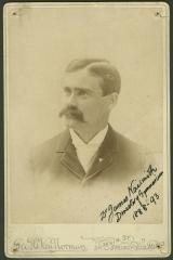 James Naismith, BA'1887, inventor of basketball