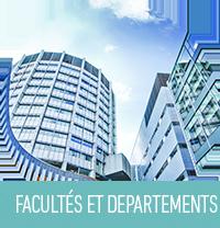 Facultés et departements
