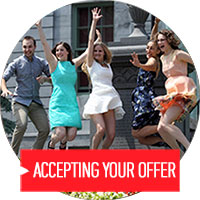 Accepting your offer