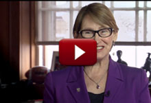 Welcome video from McGill Principal Suzanne Fortier