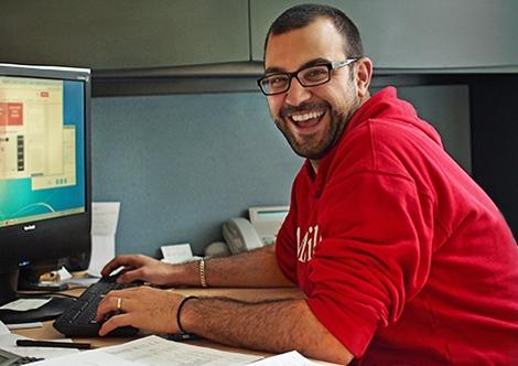 Photo of a UA staff member