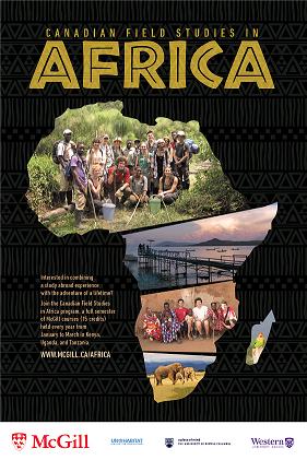 Africa program poster