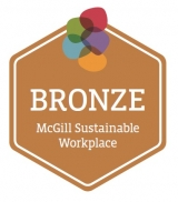 Bronze seal for sustainable workplace