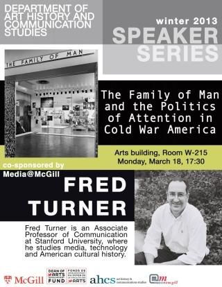 AHCS Speaker Series - Fred Turner