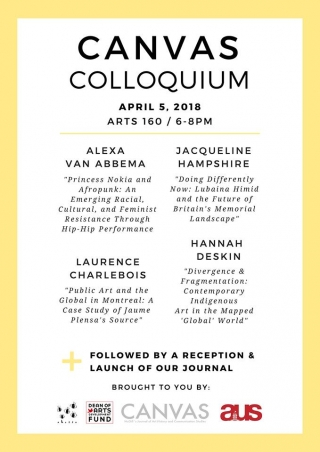Canvas Colloquium and Journal Launch   Art History & Communication