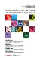 AHCS Dept. Symposium 2014