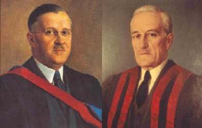 Dr. Harold R. Griffith & Dr. Wesley Bourne