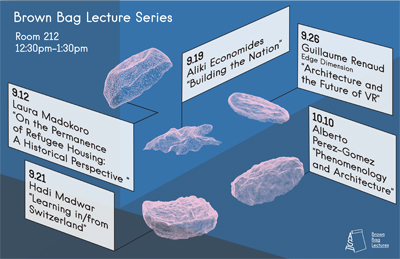 Fall 2017 Brown Bag lecture series poster (Claire Wang)