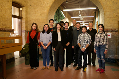 History and Theory students with Profs. Tureli, Adams, Theodore, and Pérez-Gómez, September 2017 (Juan Osorio)