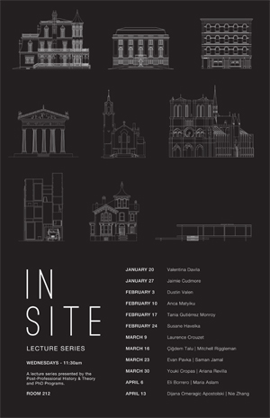 Lecture series poster (Evan Pavka)