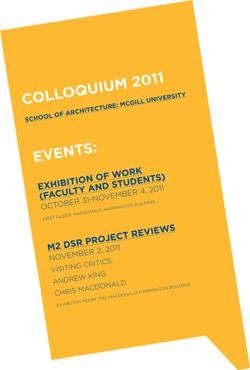 Colloquium poster - Atelier Pastille Rose / Per Kefgen
