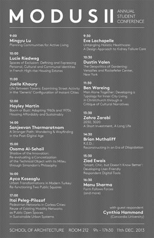 Poster for 2013 Conference (Sanjeevan Tharmaratnam)