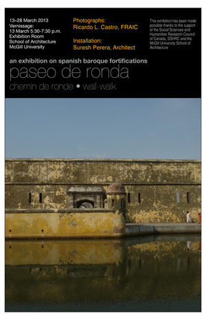 Exhibition poster (Ricardo L. Castro)