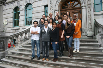 Post-Professional and Ph.D. students, October 2012 (Juan Osorio)
