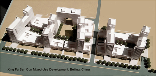 Xing Fun San Cun Mixed-Use Development, Beijing, China (Towns Consultants)