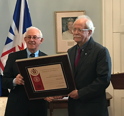 Robert Mellin receives Newfoundland and Labrador Lieutenant Governor's Award in Architecture