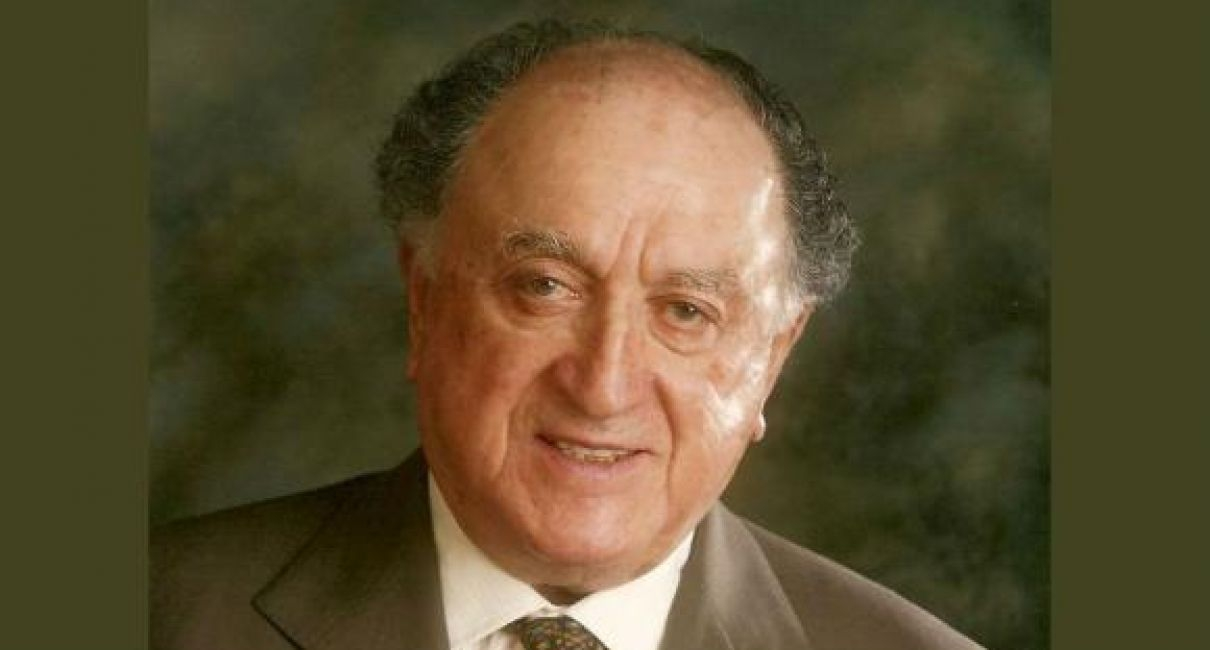 A smiling David J. Azrieli