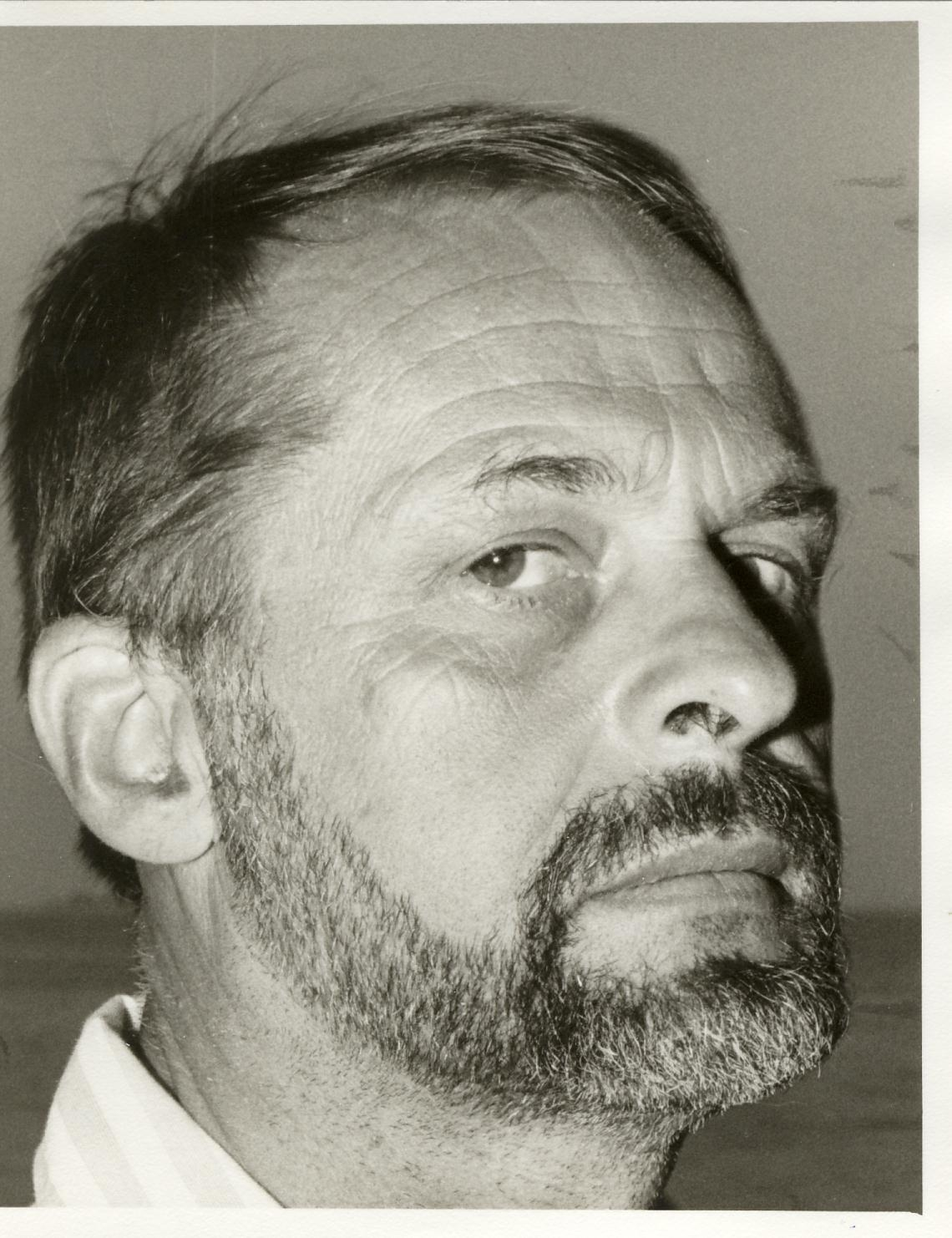Black and white image of Victor Prus