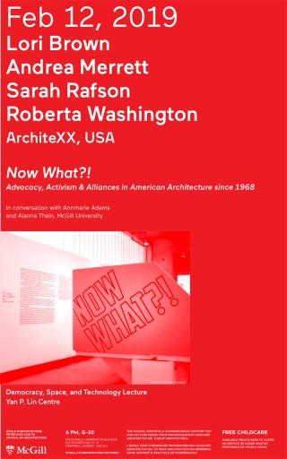 Lecture poster (Atelier Pastille Rose & Arianne Pizem / Alexandre Rossignol)