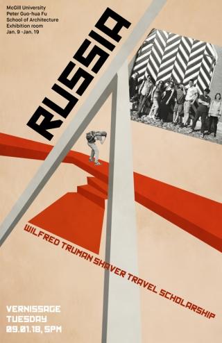 Exhibition poster (Marine de Carbonnières)
