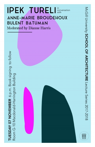 Lecture poster (Manon Paquet & Philippa Swartz)