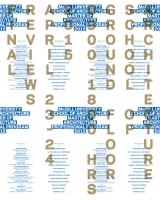 Final reviews, M.Arch. (professional), April 23-24, 2015.  (Poster: Atelier Pastille Rose.)