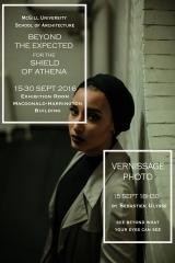 Exhibition poster (Sebastien Ulysee & Lena Djendli)