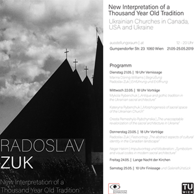 Exhibition program poster