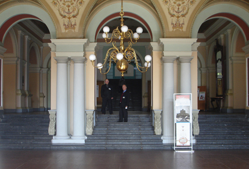 Lobby of the main building of Lviv Polytechnic National University