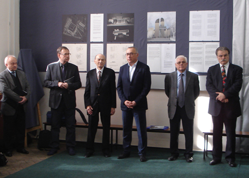 Formal opening of the exhibition