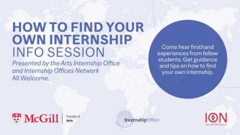Find Your Own Internship Poster