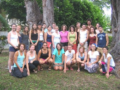 Students of the 2007 Barbados Field Study Semester