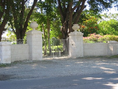 Main entrance to Bellairs