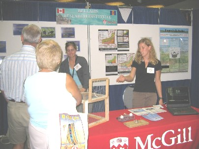 Bellairs Booth at SciTech Expo 2006