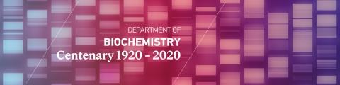 Centenary Biochemistry Banner