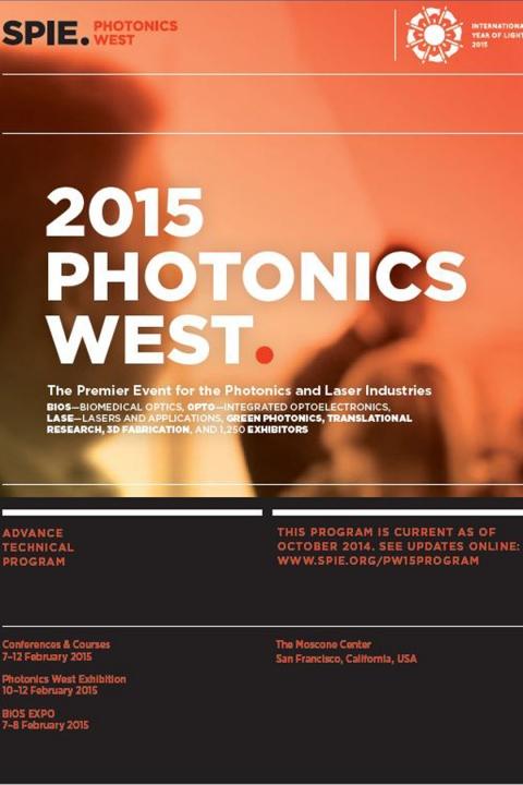 Cover of 2015 program