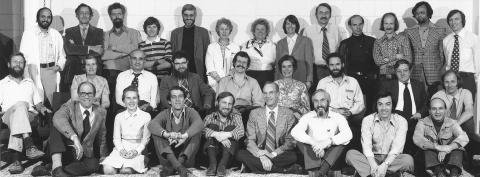 Faculty Members, Department of Biology, 1976