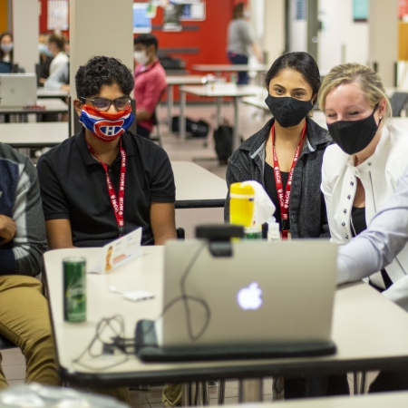 Groupe étudiants volet Rôle du médecin