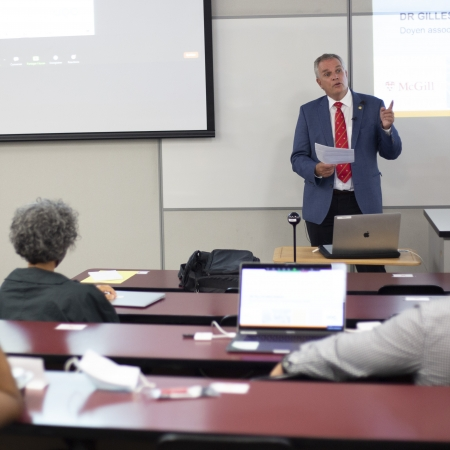 Conférence du Dr Gilles Brousseau