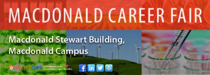 Macdonald Career Fair Banner