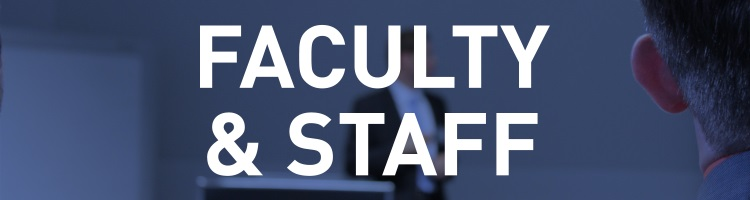 Faculty & Staff Home Page