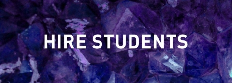 Hire Students banner