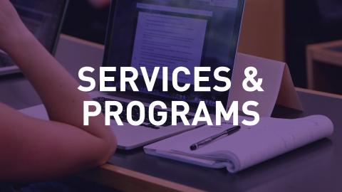 Services & Programs