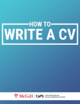 How to Write a CV Cover