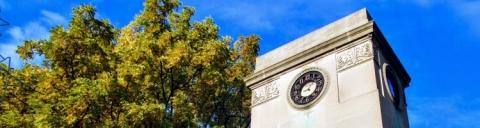 The Roddick Memorial Gates Clock