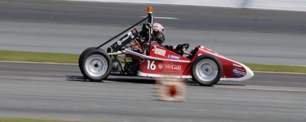 McGill Faculty of Engineering wins the Formula Hybrid International Competition second year in a row.
